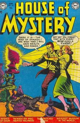 The House of Mystery (Comic Book) #10