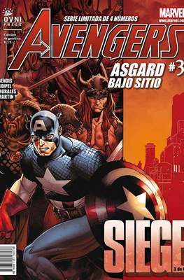 Avengers: Siege - Asgard bajo sitio (Grapa) #3