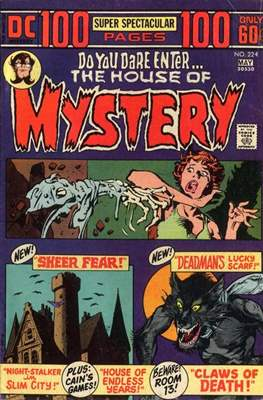 The House of Mystery (Comic Book) #224