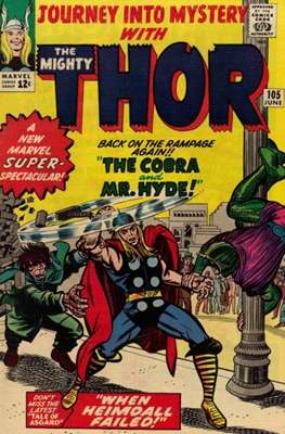 Journey into Mystery / Thor Vol 1 (Comic Book) #105