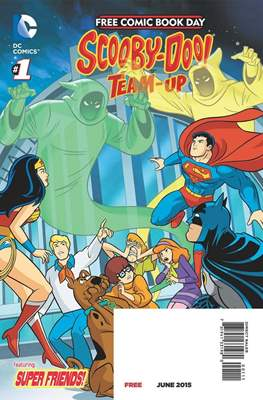 Free Comic Book Day 2015. Scooby-Doo! Team-Up / Teen Titans Go!