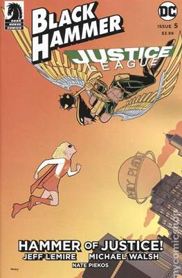 Black Hammer / Justice League: Hammer of Justice (Variant Cover) (Comic Book) #5.3