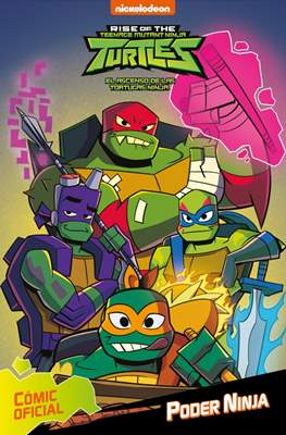 Rise of the Teenage Mutant Ninja Turtles - El ascenso de las Tortugas Ninja (Cartoné 80 pp) #1