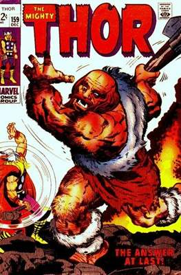 Journey into Mystery / Thor Vol 1 (Comic Book) #159