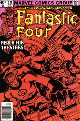 Fantastic Four Vol. 1 (1961-1996) (saddle-stitched) #220