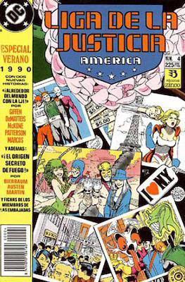 Liga de la Justicia / Liga de la Justicia internacional / Liga de la Justicia de America. Especiales (1988-1991) (Grapa) #4
