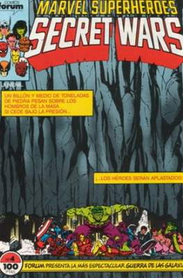 Secret Wars (1985-1987) (Grapa 32 pp) #4