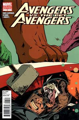 Avengers vs. The Pet Avengers (Comic Book) #1.1