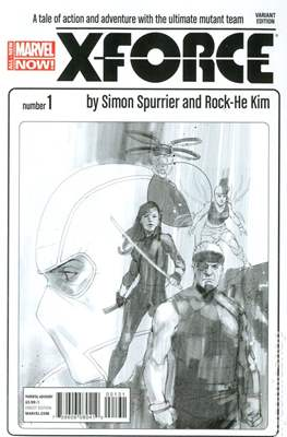 X-Force Vol. 4 (2014-2015 Variant Cover) (Comic Book) #1.1