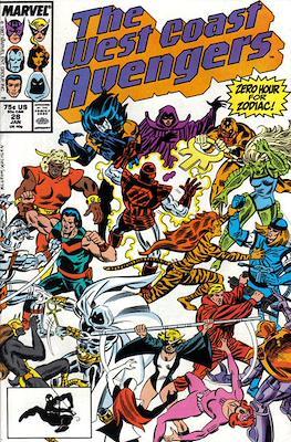 West Coast Avengers Vol. 2 (Comic-book. 1985 -1989) #28