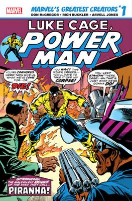 Marvel's Greatest Creators: Luke Cage, Power Man - Piranha! (2019) #1