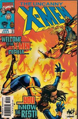 The Uncanny X-Men (1963-2011) (Comic-Book) #351
