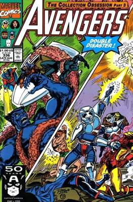 The Avengers Vol. 1 (1963-1996) (Grapa) #336