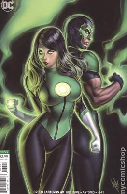 Green Lanterns (Vol. 1 2016-... Variant Covers) (Comic Book) #49