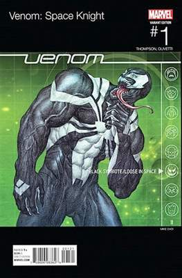 Venom: Space Knight (Variant Cover) (Comic Book) #1.1