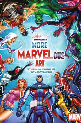 J. Scott Campbell's Marvelous Art (Hardcover) #3