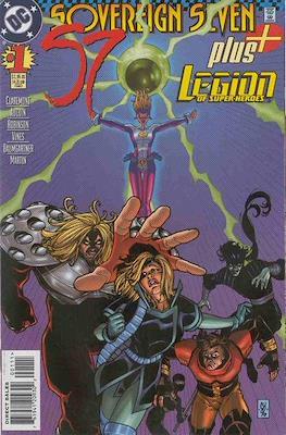 Sovereign Seven Plus Legion of Super-Heroes