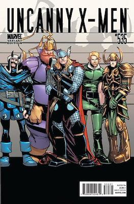 The Uncanny X-Men (1963-2011 Variant Cover) #535
