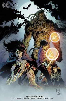 Justice League Dark Vol. 2 (2018- Variant Covers) (Comic Book) #4