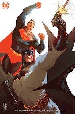 Action Comics Vol. 1 (1938-2011; 2016-... Variant Covers) (Comic Book) #1003