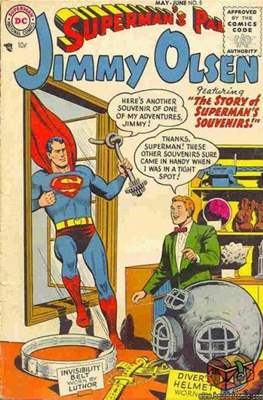 Superman's Pal, Jimmy Olsen / The Superman Family (Comic Book) #5