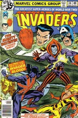 The Invaders (Comic Book. 1975 - 1979) #34