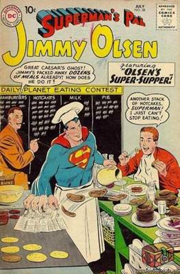 Superman's Pal, Jimmy Olsen / The Superman Family (Comic Book) #38
