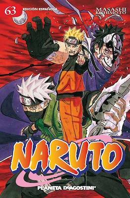 Naruto (Rústica con sobrecubierta) #63