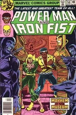 Hero for Hire / Power Man Vol 1 / Power Man and Iron Fist Vol 1 (Comic-Book) #56