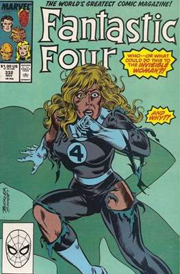 Fantastic Four Vol. 1 (1961-1996) (saddle-stitched) #332