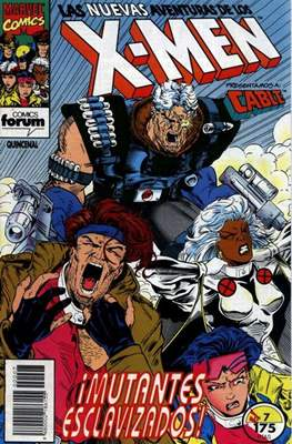 Las nuevas aventuras de los X-Men (Grapa 24 pp) #7