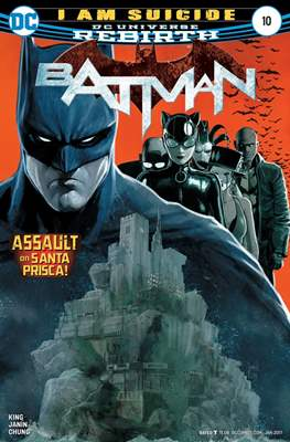 Batman Vol. 3 (2016-) (Comic-book) #10
