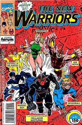 The New Warriors vol. 1 (1991-1995) (Grapa. 17x26. 24 páginas. Color. (1991-1995).) #1