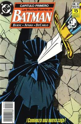 Batman (1987-1993) (Grapa) #33