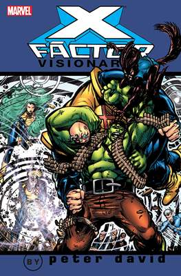 X-Factor Visionaries: Peter David (Softcover) #2
