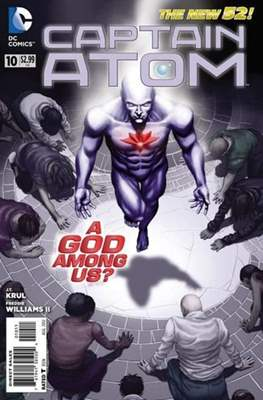 Captain Atom The New 52! (2011-2012) #10