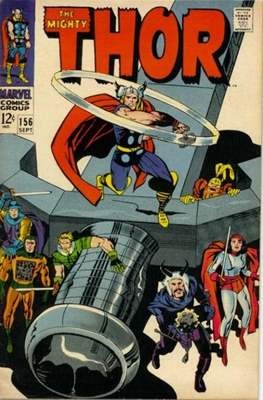 Journey into Mystery / Thor Vol 1 (Comic Book) #156