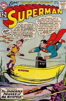Superman Vol. 1 / Adventures of Superman Vol. 1 (1939-2011) (Comic Book) #154