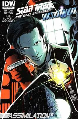 Star Trek: The Next Generation/Doctor Who: Assimilation² (Comic Book 24 pp) #4