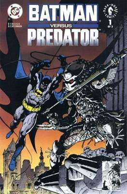 Batman versus Predator (Comic Book 32 pp) #1