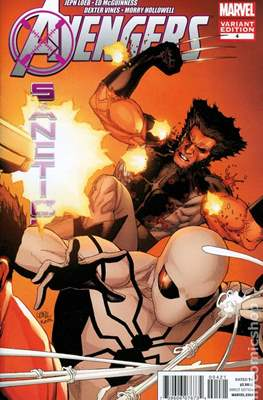 Avengers: X-Sanction (Variant Covers) (Comic Book) #4