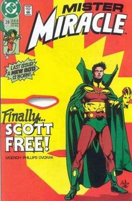 Mister Miracle (Vol. 2 1989-1991) (Comic Book) #28