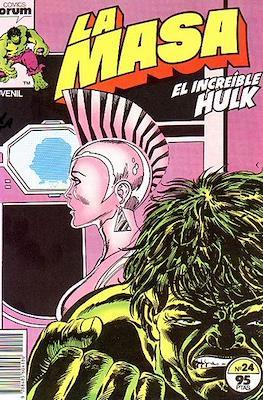 La Masa. El Increíble Hulk (Grapa 36-32 pp) #24