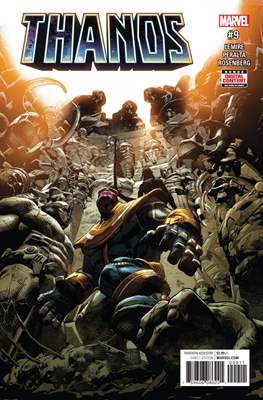Thanos (Comic-book) #9