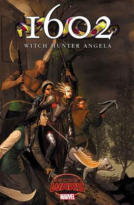 1602: Witch Hunter Angela (Comic Book) #2
