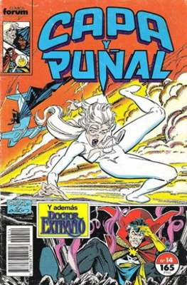 Capa y Puñal Vol. 1 / Marvel Two in One: Capa y Puñal & La Cosa (1989-1991) (Grapa 24-64 pp) #14