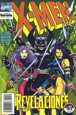 X-Men Vol. 1 (1992-1995) (Grapa 32 pp) #30