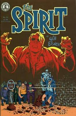 The Spirit (1983-1992) (Comic book. 32 pp) #21