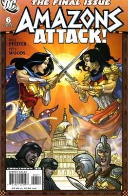 Amazons Attack! (Saddle-stitched) #6
