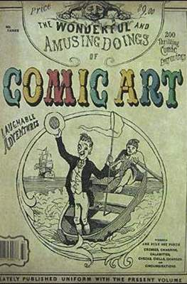 Comic Art (Magazine 64-80 pp) #3